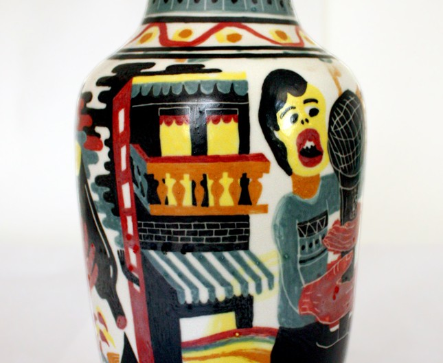 Vase made in vietnam 1