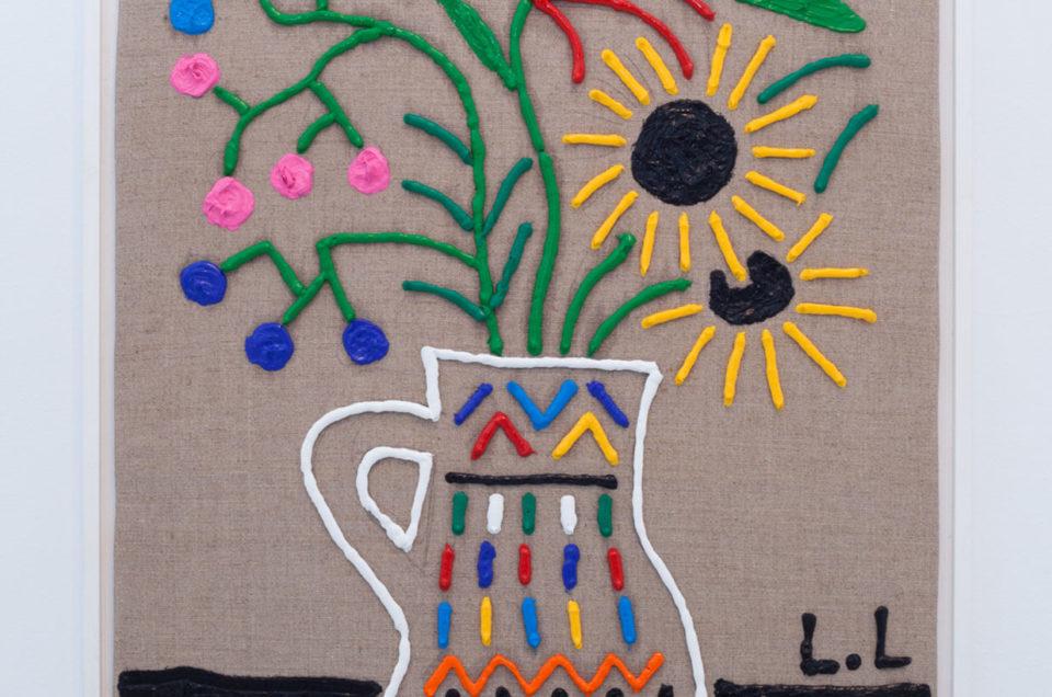 Bodegón con vasija marroquí